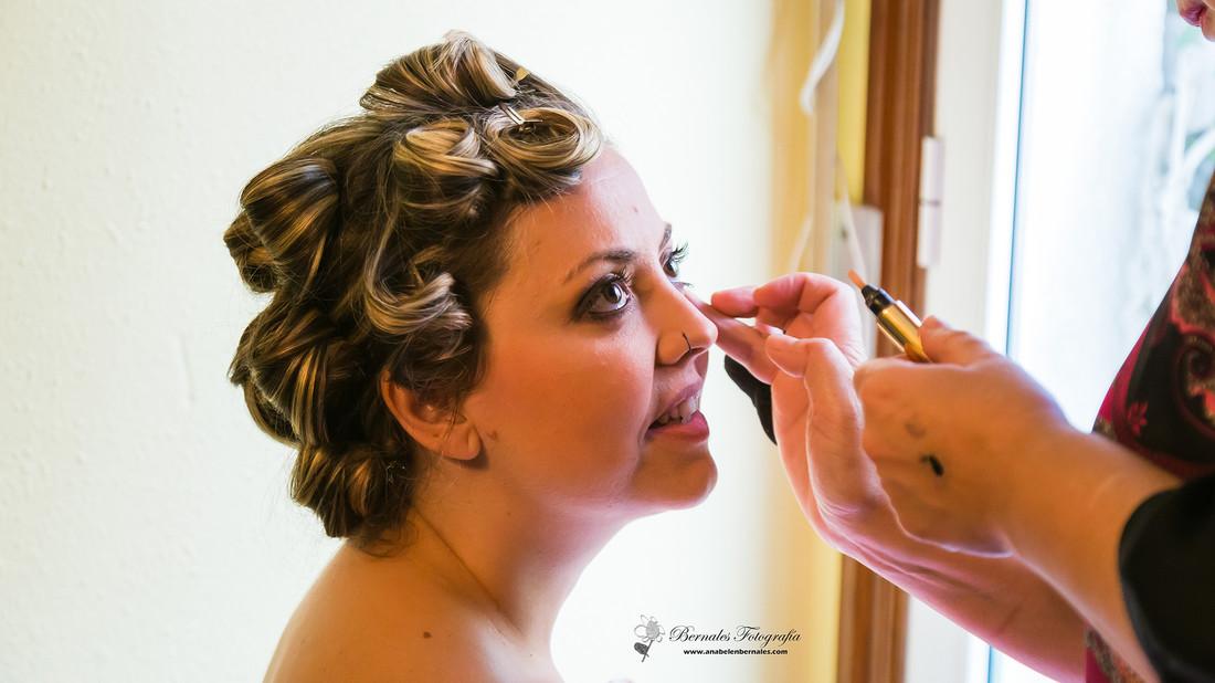 makeup, bernalesfotografía, bodas